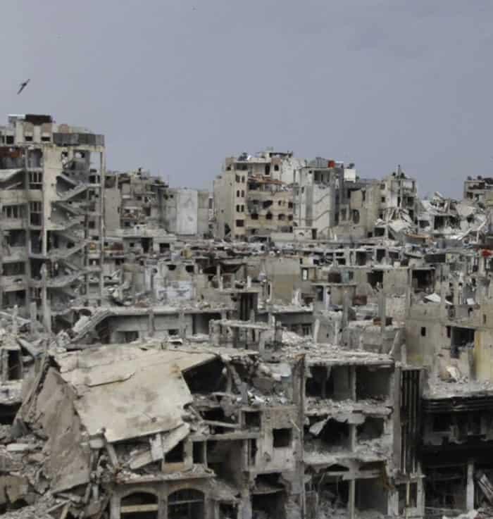 بمناسبة مأساة مدينة حلب