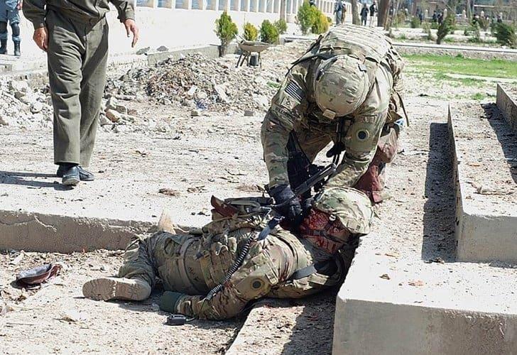 عاجل: مقتل 5 جنود أمريكيين و 9 جنود عملاء في عملية نوعية بولاية لوجر