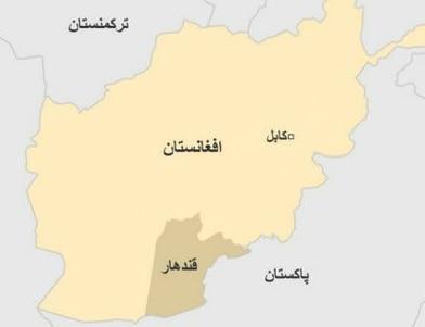 مقتل قائد مخفر وضبط مسدسه في مدينة قندهار