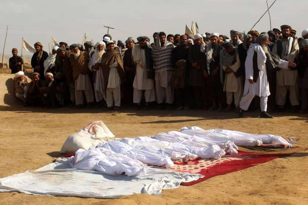 غضب الأفغان العارم من مجزرة بحق الأطفال في ولاية ميدان وردك