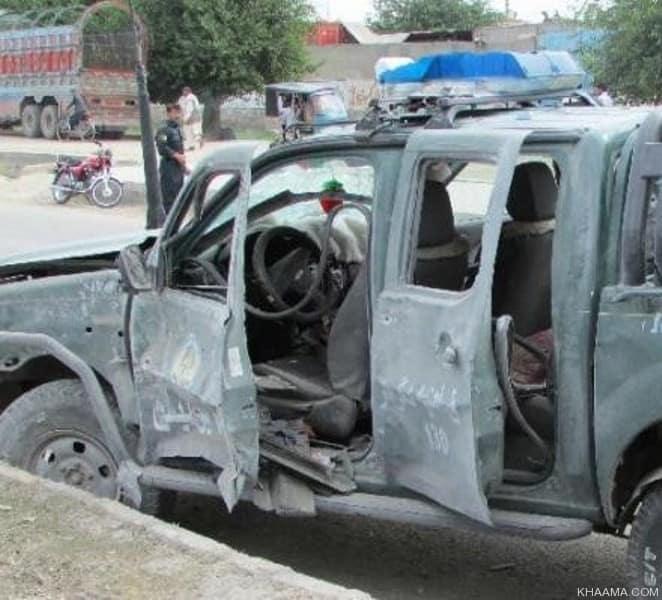 هلمند: تدمير سيارة رينجر ومقتل 6 من عناصر الشرطة في مديرية نادعلي