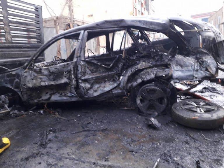 هلمند: تدمير سيارة للعدو مقتل مليشي عميل في مديرية جرشك
