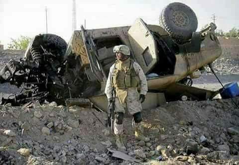 قندهار: انفجار لغم في مدرعة لجنود القوات المحتلة في دامان