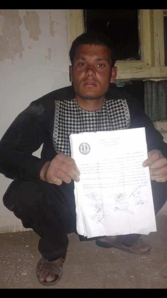 لوجر: أسر ضابط مهم بالجيش العميل (مسؤول الأسلحة الثقيلة) في مديرية محمد آغة