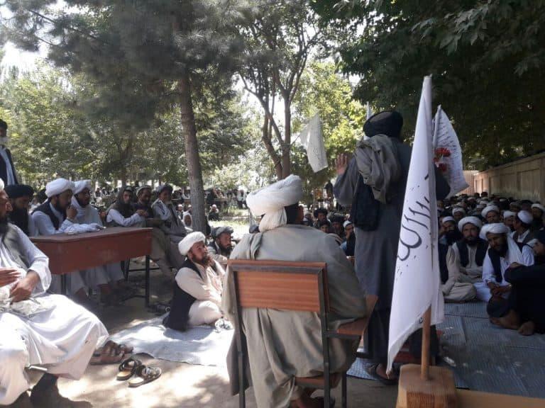 انعقاد جلسات برعاية لجنة التعليم والتربية بالإمارة الإسلامية في مديرية بلجراغ بولاية فارياب