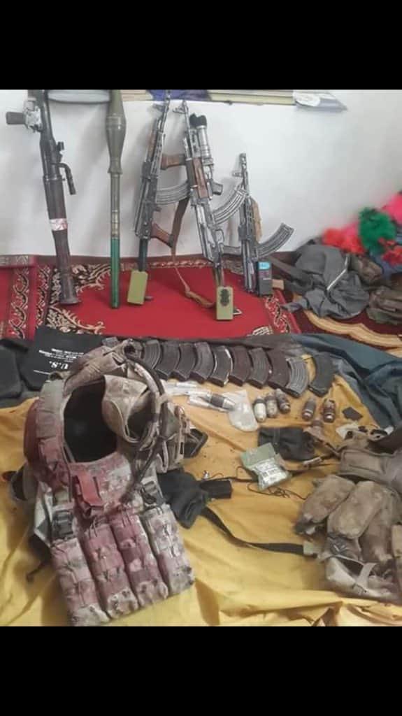 بكتيكا: تدمير سيارة رينجر، ومقتل قائد مليشي (دولت خان كتوازي) واثنين من حراسه في مديرية متاخان