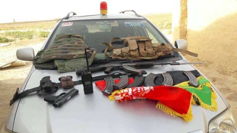 فراه: مقتل قائد عميل في مركز الولاية