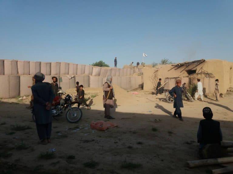 تحرير قاعدة عسكرية، و10 نقاط أمنية في مديرية تشتمال بولاية بلخ