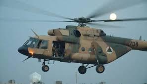 إسقاط مروحية عسكرية للجيش العميل في ولاية فارياب