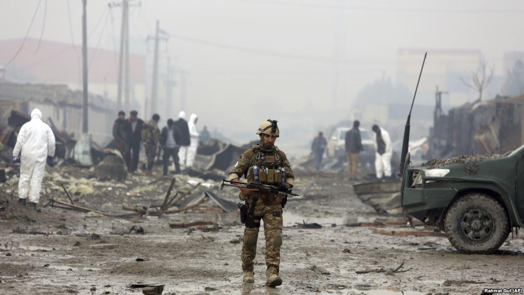 مقتل وجرح 23 جنديا وتدمير 3 عربات نتيجة هجوم استشهادي على رتل عسكري مشترك للأمريكيين وقوات وحدة صفر واحد بالجيش العميل في ولاية كابل