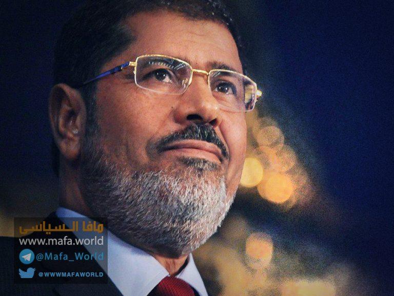 الرئيس مرسى شهيدا