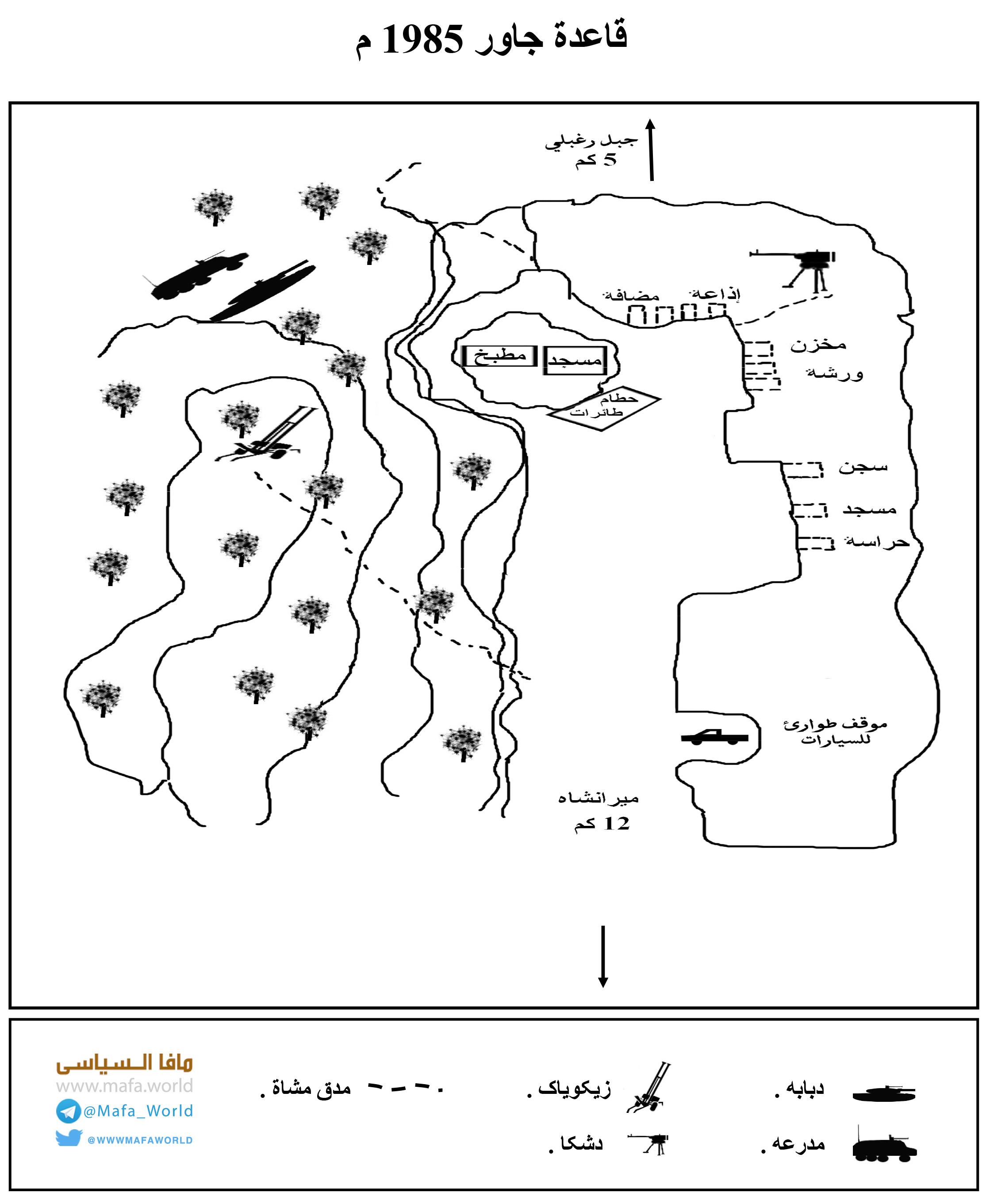 جلال الدين حقاني | معركة جاور 1985 م