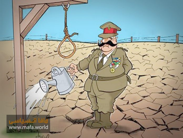 دعاء القنوط العسكر في مصر