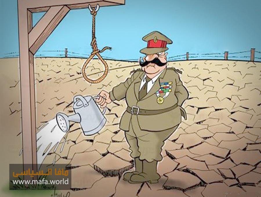 """دعاء """"القنوط"""" العسكر في مصر"""